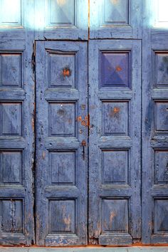 doors found and photographed by Geninne in Mexico