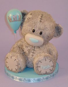Tatty Bear Cake - For all your cake decorating supplies, please visit craftcompany.co.uk
