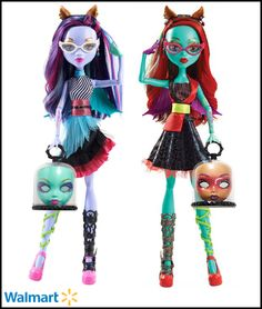 """Gore-geous Ghoul - Beast Freaky Friend Monster High Doll - 28"""" Tall!"""