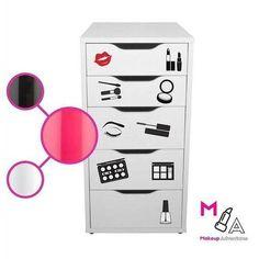 ICON DECAL SET: Makeup Vanity Stickers Decals Makeup