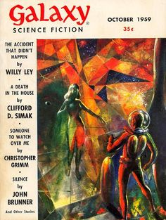 scificovers:  Galaxy October 1959. Cover by Wally Wood....