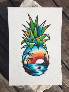 Anya Alexeeva – Graffiti World Cute Drawings, Tattoo Drawings, Desenhos Old School, Pineapple Tattoo, Pineapple Palm, Desenho Tattoo, Doodle Art, Art Sketches, Coloring Pages