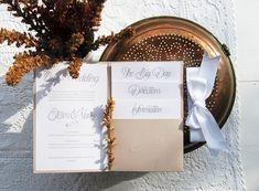 Chic ρομαντικό προσκλητήριο γάμου