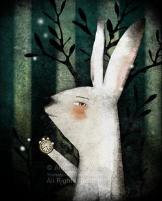 The White Rabbit (Alice in Wonderland)