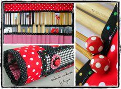 Knitting - Angela's Expressions Knitting Needles, Sunglasses Case, Cases, Crochet, Handmade, Hand Made, Chrochet, Craft, Crocheting