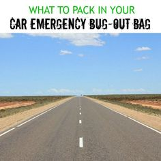 Travel Gear We Use: What to pack in a car emergency bug-out bag - Pitstops for Kids