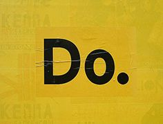 Yellow. Do. Sign. CaribouInspires.com