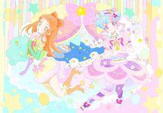 Aikatsu Stars! Saotome Ako & Hanazono Kirara