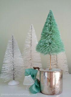 A sea glass christmas... pleasure in simple things blog