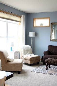 blue living room design-inspiration