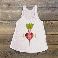 Vegan Shirt Vegan tank top Vegan Shirts My by thedharmastore