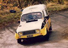 Renault 4 rally van