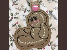 Whimsy Embroidery,WhimsyDolls,Embroidery Designs,Snowballs,3DDesigns,3D Snowballs,ITH,In The Hoop,Key Fobs,Key Chains, Key Rings, Snap Tabs,Backpack Tags - Whimsy Embroidery
