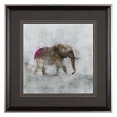 Elephant 1   Framed Art   Art by Type   Art   Z Gallerie