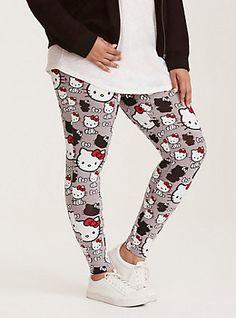 54053acb8 Hello Kitty Print Full Length Leggings, MULTI Hello Kitty My Melody, Hello  Kitty Dress