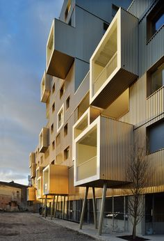 "Inventively-clad gentrification in the form of Bordeaux's ""Urban Dock""  
