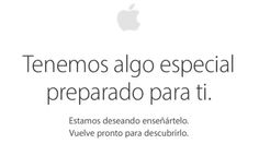 A unas horas del evento de presentación, la Apple Store online se encuentra cerrada