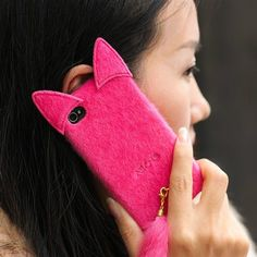 Superior Cute 3D Soft Skin Case with Tail for iPhone 5/5S/5C - Fashion iPhone 5S Cases - iPhone 5 5S Cases