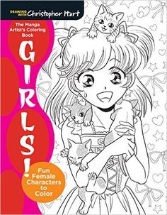 The Manga Artists Coloring Book By Christopher Hartdeviantart On DeviantArt