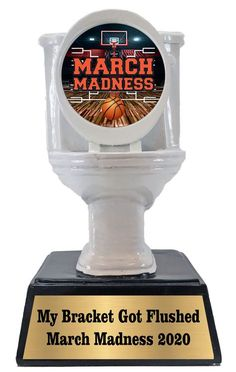 Basketball Trophies, Bracket Challenge, Toilet Bowl, March Madness, How To Memorize Things, Perfume Bottles, Perfume Bottle