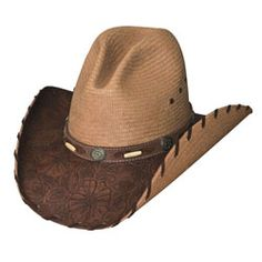 Treasure of the West - Shantung Straw Cowboy Hat