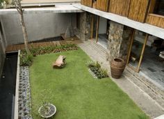 Courtyard House,© Luca Tettoni