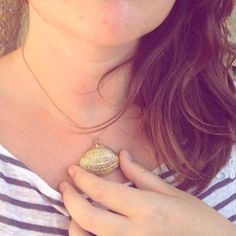 collier coquillage DIY