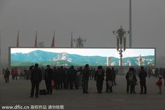 Beijing waits for cold wave to disperse smog