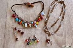 10 εύκολα project ραπτικής για αρχάριους - Ftiaxto.gr Hair And Beard Styles, Plexus Products, Decoupage, Diy And Crafts, Weaving, Beaded Necklace, Chain, Bracelets, Jewelry