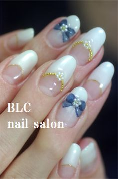 オーガンジーリボンの画像 | 新潟市中央区万代ネイルサロン~BLC nail salon