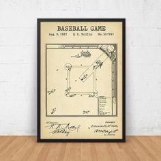 Leading baseball training and softball training facility in new baseball game field blueprint art patent by digitalblueprints malvernweather Image collections