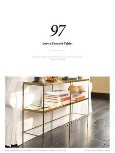 Essential Home представляет вам подборку лучших брендов для дизайна консольных столов, которые сделают все возможное для ваших проектов середины века. Следуя всем тенденциям лучших дизайнеров и роскошных брендов, таких как Brabbu и Boca do Lobo, эта книга имеет потрясающую коллекцию мебели, которая отлично смотрится в любом проекте дизайна интерьера.