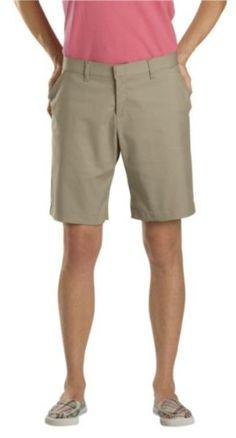 Dickies Women's Flat Front Short $14.99 (62% OFF)