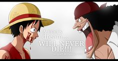 Monkey D. Luffy & Marshall D. Teach in Mock Town, Jaya. If you post this anywhere, please, give me credit. Leave your comments! One Piece © Eiichiro Oda
