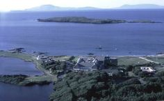 A bird's eye view of Renvyle House Hotel is slightly more elevated than Connemara Equestrian Escapes can offer from horseback