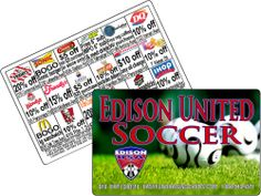 Discount Cards for Soccer, Little League and football are huge winners