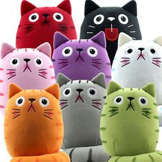 Dicke Katze Sweepstakes! Win an entire collection of fat cat plush! There soooooo cute!!!