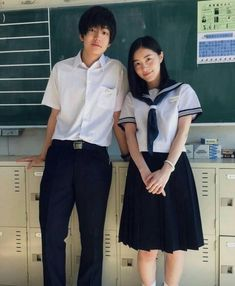 Japanese Couple, Japanese Boy, Human Poses Reference, Pose Reference Photo, Aesthetic Japan, Japanese Aesthetic, Japan School Uniform, Japanese Uniform, School Costume