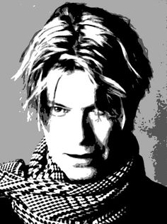 David Bowie Painting: