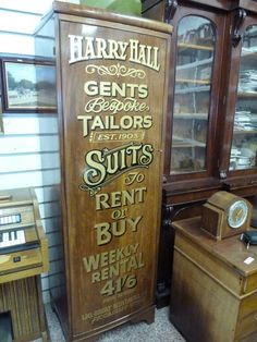 shop front idea for sewing tailoring