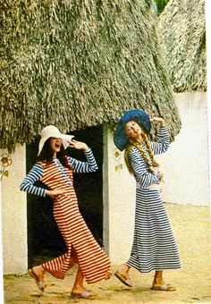 vintage photo from the April 1971 issue of Redbook.