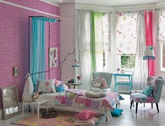Turquoise Pink Girl Bedroom Ideas - Architecture News, Homes Design, Interiors on Yupiu