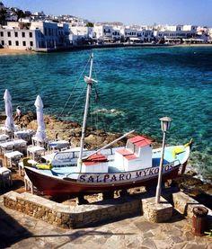 """Salparo"" Fish tavern in Mykonos"