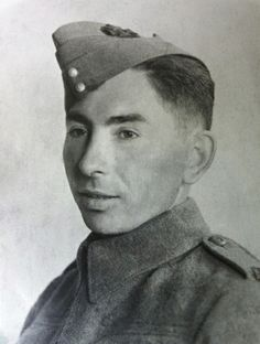 The third of eight Ballendine brothers from Battleford, Saskatchewan who joined the Canadian Army in World War Two. Rifleman Frank S. Ballendine enlisted in the Regina Rifles in June 1940 and was honourably discharged after six months. Canadian Soldiers, Canadian Army, Canadian History, Father John, Ww2 Tanks, Mind Body Spirit, D Day, Rifles, World War Two