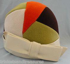 Vintage 60s YSL hat. Swoon!
