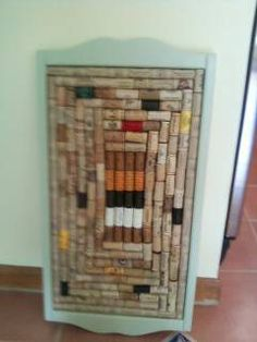 "sage green ""real cork"" board $20"