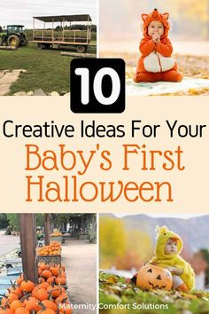 Your baby's first Halloween is an exciting time! Here are 10 tips to make your baby's first Halloween a memorable experience. Baby First Halloween, Pregnant Halloween, Baby Halloween Costumes, Halloween Kids, Mom Dad Baby, Things To Do, How To Memorize Things, Preparing For Baby, Before Baby