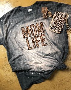 This listing is for (1) Leopard Mom Life Acid Wash Graphic Tee Sublimation Design Pressed onto a Dark Heather Gildan Soft Style Tee These Tees Typically Run True To Size I suggest to size down for a more fitted fit & Size up for an oversized fit A size chart has been added for your convenience.