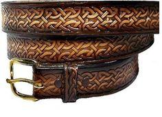 "1 1/4"" Celtic Medieval Renaissance Casual Heavy Duty Work Leather Belt w Buckle | eBay"