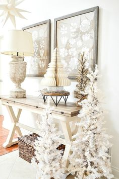 You searched for Christmas - StoneGable Christmas Home, White Christmas, Modern Christmas, Beautiful Christmas, Christmas Christmas, Vintage Christmas, Christmas Crafts, Seasonal Decor, Holiday Decor